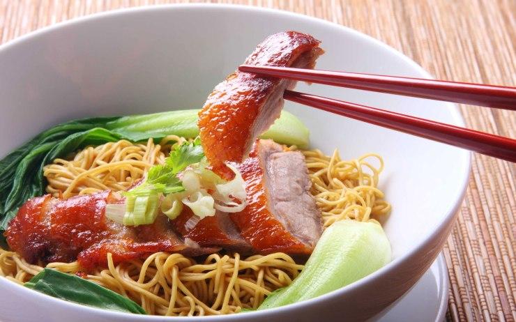 Barbecued-pork-noodles